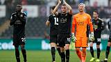 Caretaker Appleton leads Leicester to 2-1 win over Swansea