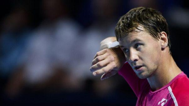 Tennis: Berankis bat Mannarino et rejoint Dzumhur en finale à Moscou