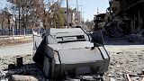 Trump: Raqqa fall 'critical breakthrough,' end of Islamic State in sight