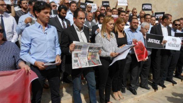 A Malte, manifestation et désir d'unité après le meurtre de la journaliste