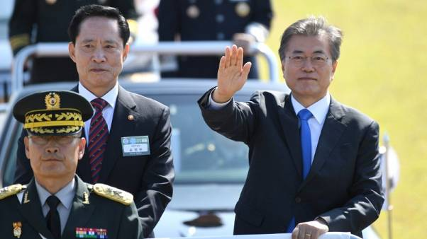 South Korea's Moon says will continue phasing out nuclear power