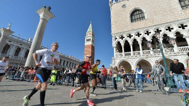 Venicemarathon: vince azzurro Faniel