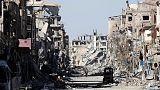 Russia accuses U.S.-led coalition of 'barbaric' bombing of Syria's Raqqa