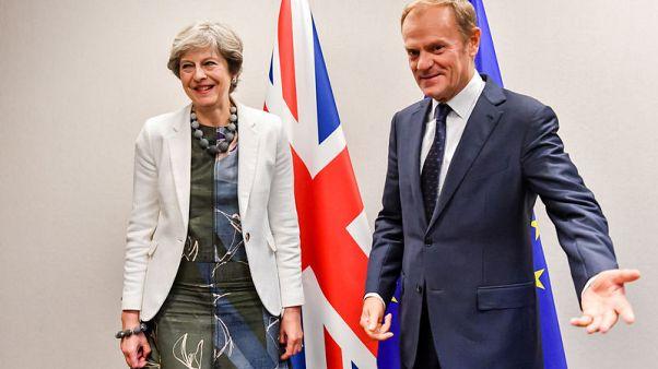 Now talk nice - EU script to help May settle Brexit bill