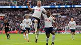 Kane scores twice as Tottenham crush Liverpool