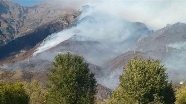 Incendi: roghi in Calabria e Piemonte