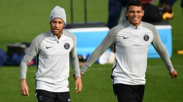 OM-PSG: ambiance tendue autour du 'clasico', Thiago Silva titulaire