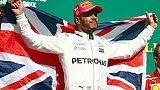 """GP des Etats-Unis: Hamilton veut """"gagner les trois dernières courses"""""""