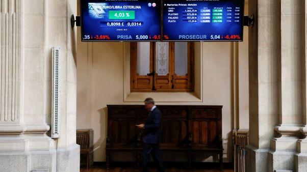 European shares open sideways, Spain underperforms again