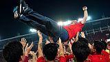 Chine: de nouveau champion avec Guangzhou Evergrande, Scolari pourrait partir