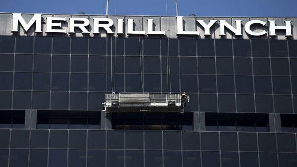 Britain's financial watchdog fines Merrill Lynch 34.5 million pounds