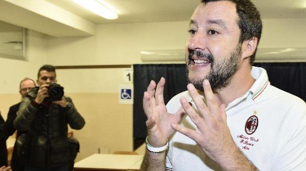 Salvini, ieri lezione democrazia