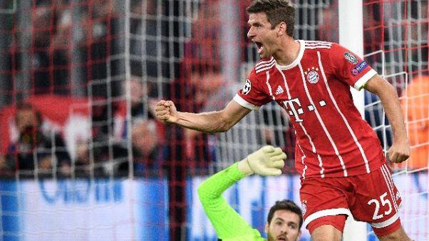 Bayern, T.Mueller fuori tre settimane