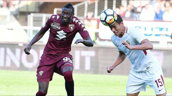 Roma: Moreno,stiamo giocando da squadra