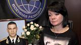 Widow of Russian major killed in Syria battles for compensation