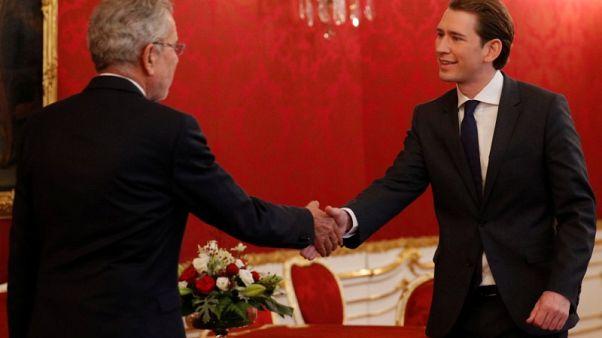 Austrian conservative Kurz says needs more time on coalition talks