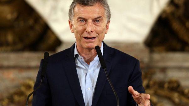 Public works blitz helps Macri coalition in Argentina midterm vote