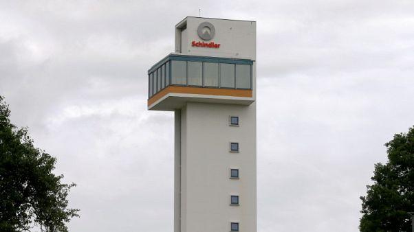 Swiss elevator maker Schindler's third-quarter up on China orders