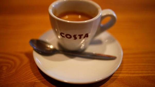 Costa coffee owner Whitbread's interim profit rises on expansion