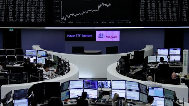 European shares hold at five-month highs as BP buoys oil stocks