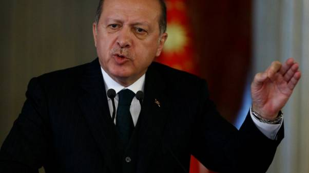 Turkey's Erdogan says operation in Syria's Idlib largely completed