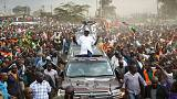 Kenya opposition chief - people should stay home, not protest during polls