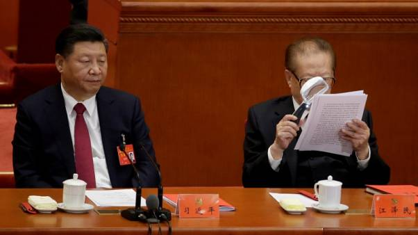 Pressure on as Xi's 'Belt and Road' enshrined in Chinese party charter