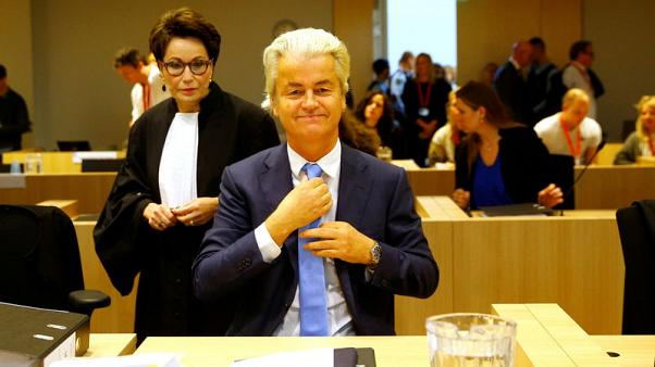 Dutch far-right politician Wilders appeals discrimination verdict