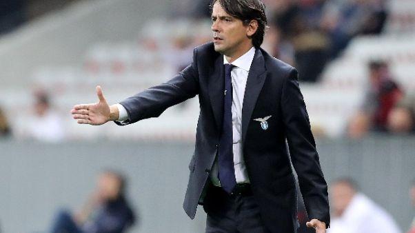 Lazio: Inzaghi non pensa allo scudetto