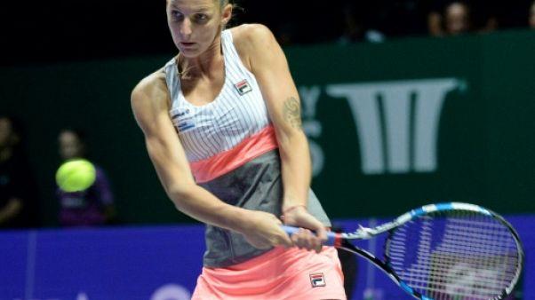 Tennis: Pliskova à fond vers les demi-finales du Masters