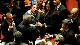 Italy calls confidence votes in Senate on new electoral law