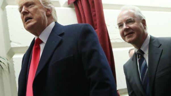 Donald Trump fait pression sur le Congrès pour baisser rapidement les impôts