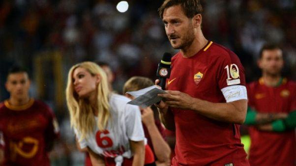 Sportel Awards 2017: les larmes de Totti et les années 70 au palmarès