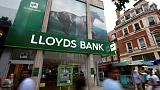 Lloyds posts 38 percent rise in nine month profit