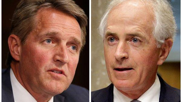 Two Republican senators blast Trump as party feud deepens