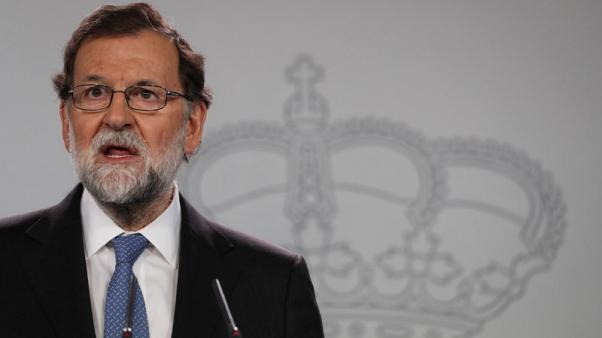 Restoring legality in Catalonia is Spanish government priority - PM Rajoy