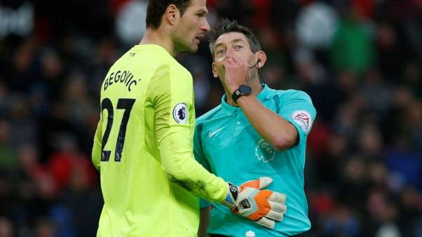 Bournemouth's Begovic says Liverpool lack pride, desire in defence