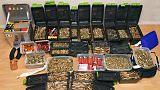 German police find guns, ammunition in raid of suspected militant Islamist