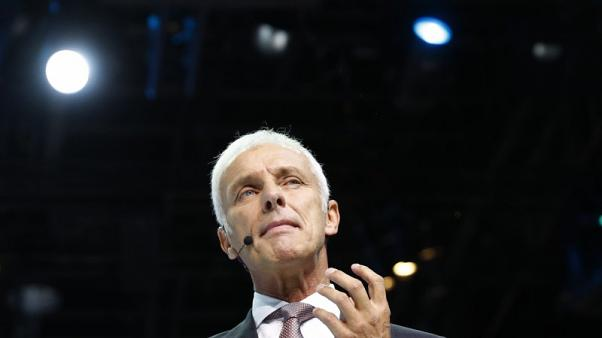 VW CEO says unaware of price fixing in cartel investigation