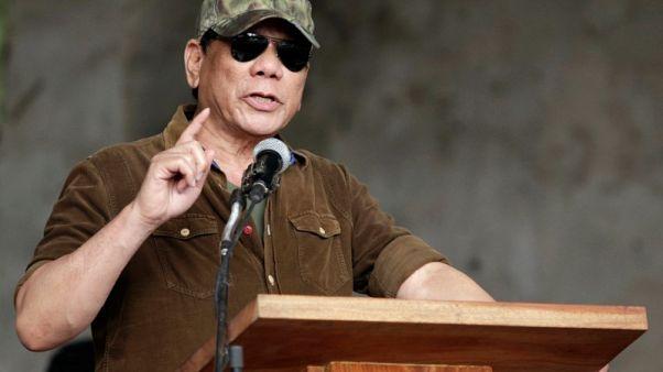 Philippines' Duterte says he's been 'demonised' over drugs war