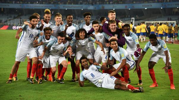 Teenager Brewster is England's hat-trick hero