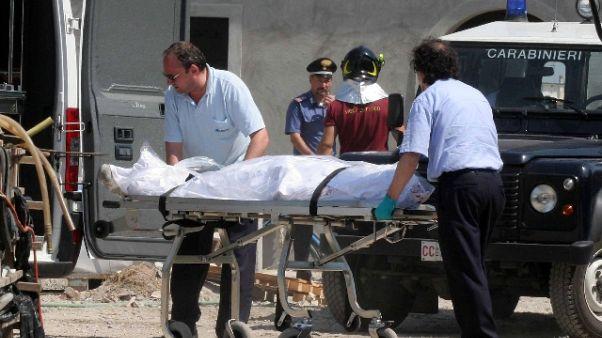 Muratore cade da 12 metri e muore