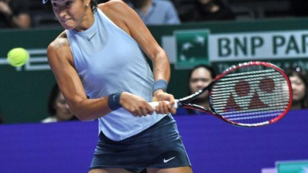 Tennis: Caroline Garcia reste dans la course au Masters