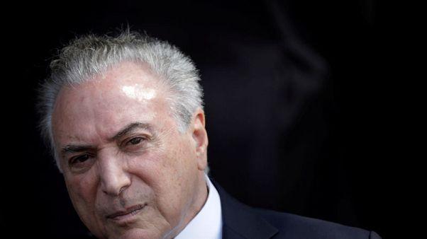 Brazil's Temer undergoes hospital exams for urinary problem