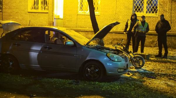 Explosion in Kiev wounds Ukrainian MP and one other - interior ministry