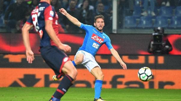 Mertens, difficile vincere a Genova