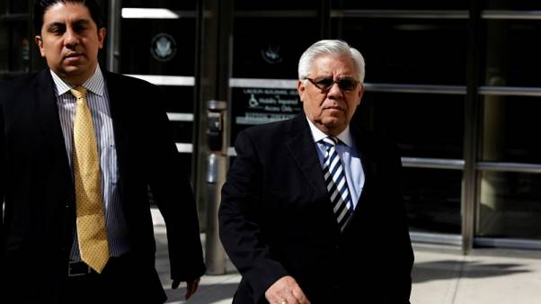 Ex-Guatemalan judge sentenced to 8 months in FIFA bribery case