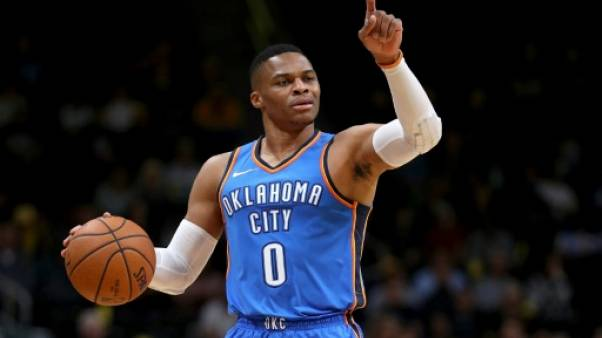 NBA: Westbrook étincelant, Cleveland morose