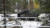 Four killed, several injured as train collides with army vehicle in Finland