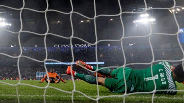 Man City's Bravo remains grounded despite Wolves heroics